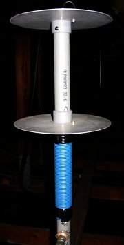 Antenne verticale shortened Isotron